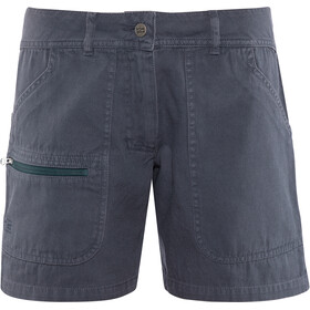 Varg Båstad Canvas Shorts Damen lead blue